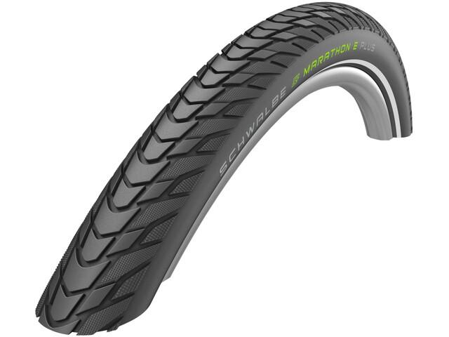 "SCHWALBE Marathon E-Plus Performance Clincher Tyre 27.5x2.00"" TwinSkin Smart DualGuard Addix E reflex"